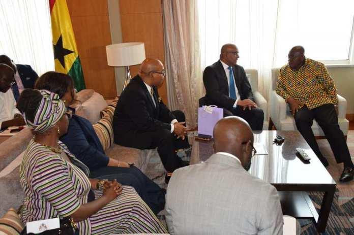 Ghana president Akufo-Addo calls on Guyana opposition leader 1