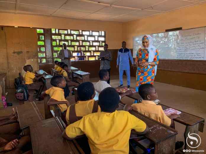 Samira Bawumia donates books to three schools in the Greater Accra Region 3
