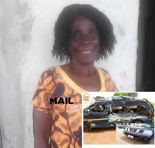 Covid-19: Woman dies in bus crash as police chase maskless driver in Kumasi