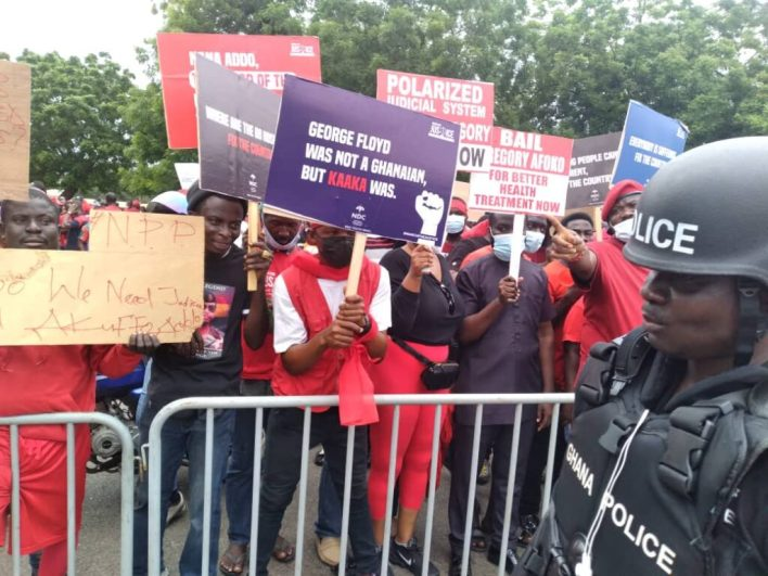 PHOTOS: NDC seizes Accra with massive demo against Akufo-Addo 4