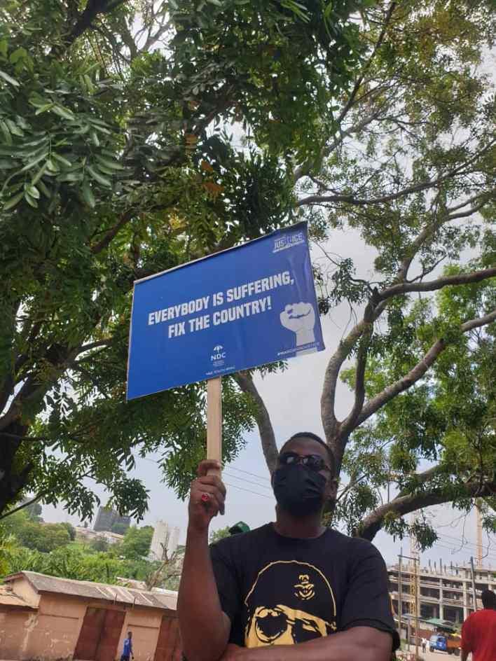 PHOTOS: NDC seizes Accra with massive demo against Akufo-Addo 7