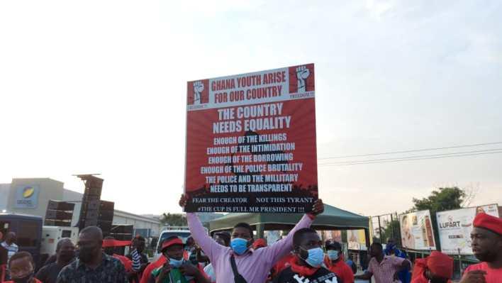 PHOTOS: NDC seizes Accra with massive demo against Akufo-Addo 5