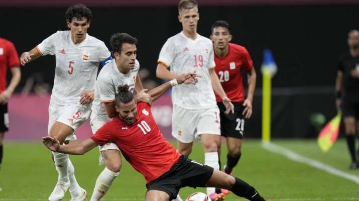Spain held to 0-0 by Egypt with six players from Euro 2020