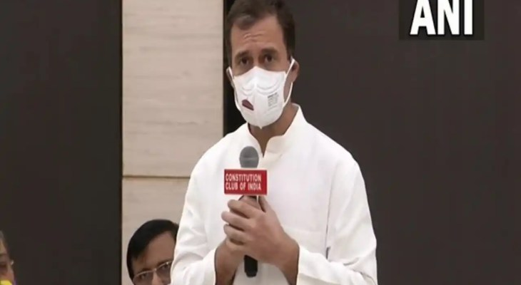 Rahul Gandhi urges Opposition parties to unite to fight back party in power at Centre