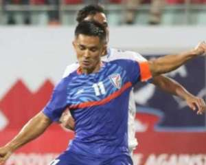 India blank Nepal 3-0, win SAAF Championship for 8th time, Sunil Chhetri equals Lionel Messi with 80 goals
