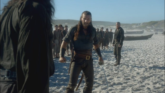 Charles Vane Quotes Beach Fight