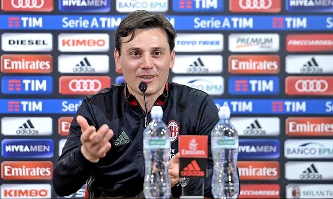 Milan-Bologna 3 a 0, i rossoneri tornano in Europa con Montella