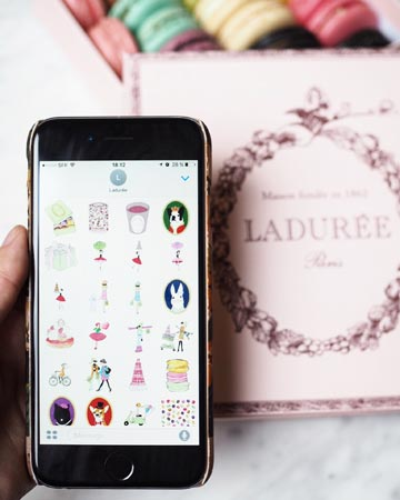 Ladurée-Message-Stickers