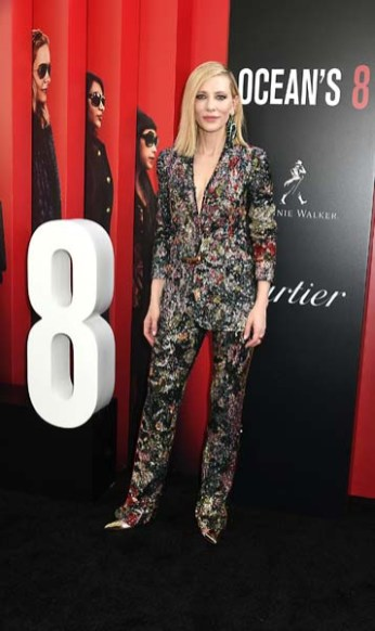 """Cate Blanchett attends the """"Ocean's 8"""" World Premiere on June 5, 2018 at Alice Tully Hall in New York, New York, USA. RobinPlatzer/TwinImages/SIPAUSA"""