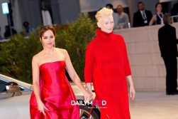 Dakota Johnson and tilda Swinton