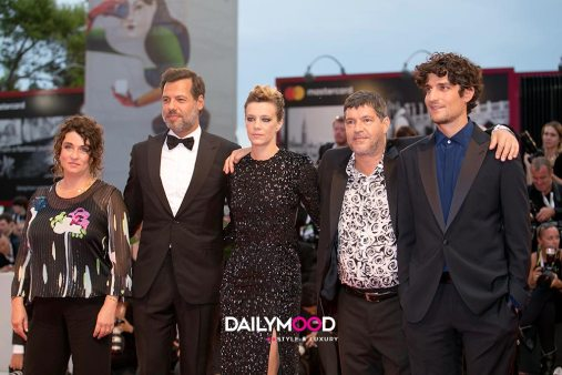Noemie Lvovsky, Laurent Lafitte, Celine Sallette, Pierre Schoeller and Louis Garrel