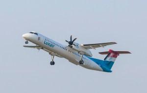 Q400 LX-LGN inflight 513