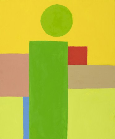 Etel Adnan Untitled 2017 oil on canvas 55 x 46 cm