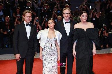 Liv Tyler, Director James Gray, Ruth Negga and Brad Pitt