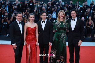 Scarlett Johansson, Laura Dern, Adam Driver, Noah Baumbach, David Heyman
