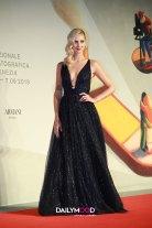 Chiara Ferragni in Dior Couture