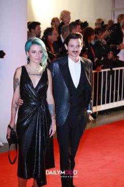 Karen Rebecca Casiraghi e Fabio Rovazzi in Trussardi