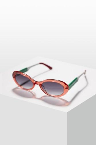 Laura Biagiotti occhiali tricolore1_laterale