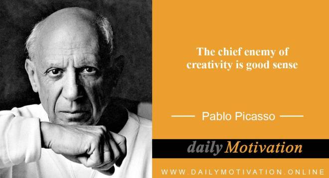 inspiring quotes by Pablo Picasso