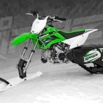 Kawasaki moto de nieve