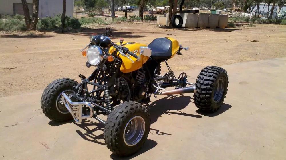 Quad Ducati