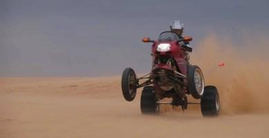 Honda CBR 1.100 XX quad