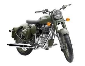 Royal Enfield Classic 500 Battle Green (2)