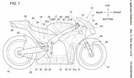 Honda RVF 1000 RR 2017. Diseños de patente y probable imagen final