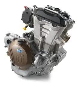 Husqvarna Gama MX 2017-Motor FE250, 350