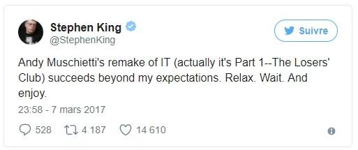 It - Tweet - Stephen King
