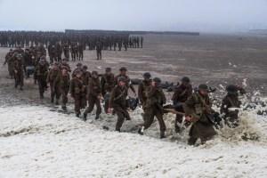 Les troupes en pleine évacuation