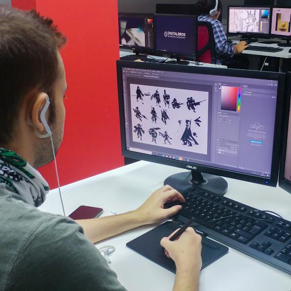 Corso-Concept-Art_1-Digital-Bros-Game-Academy