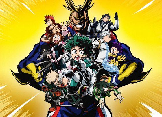 top 50 manga my hero academia