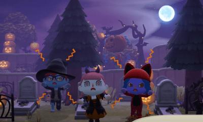 aggiornamento halloween animal crossing new horizons