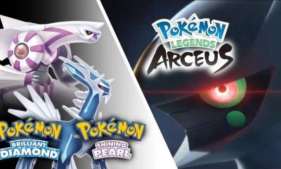 Remake di Pokémon Diamante e Perla, Leggende Pokémon Arceus: le date di uscita ufficiali