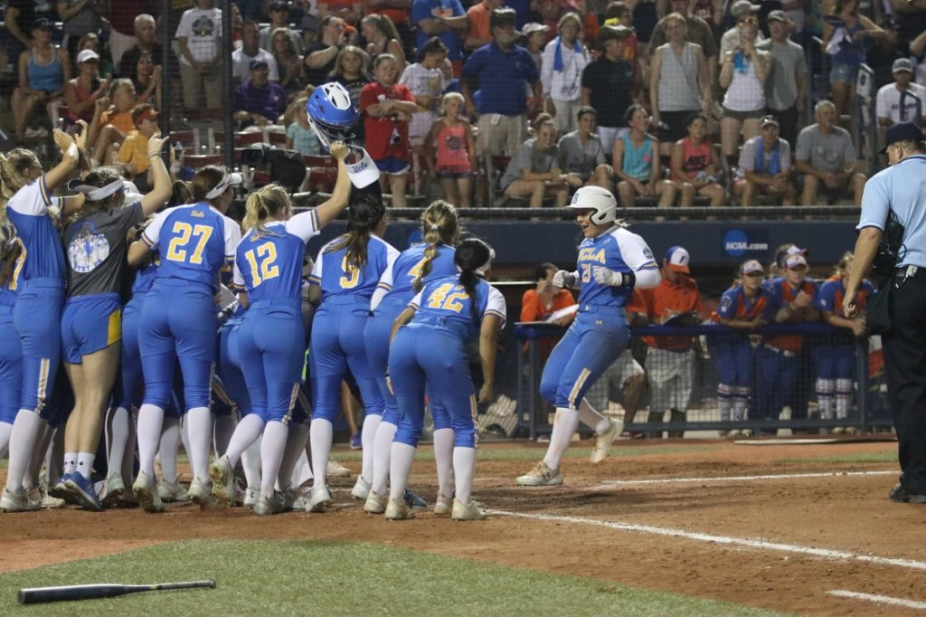 UCLA softball completes comeback against Florida in Women ...