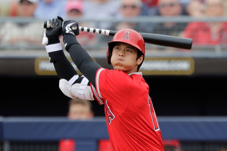 Angels' Shohei Ohtani expected to start pitching in May ...