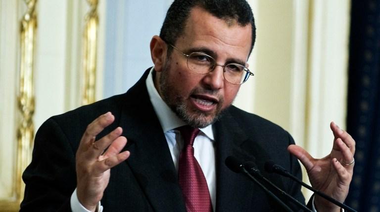 Egyptian Prime Minister Hesham Qandil. AFP PHOTO/GIANLUIGI GUERCIA