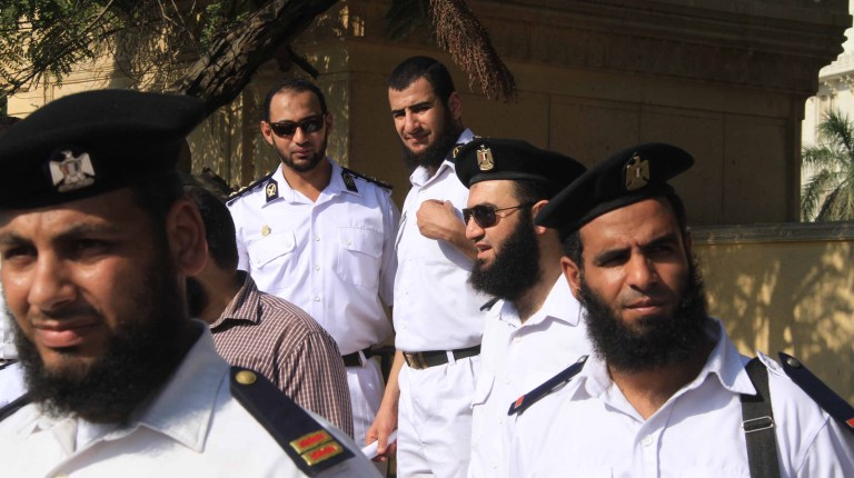The Interior Ministry said on Wednesday it had not instituted any provisions regarding the bearded police officers (File photo) Photo By Mohamed Omar