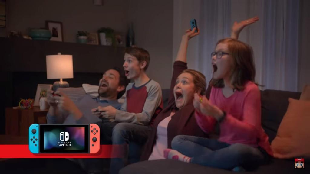 Nintendo Switch promo afbeelding