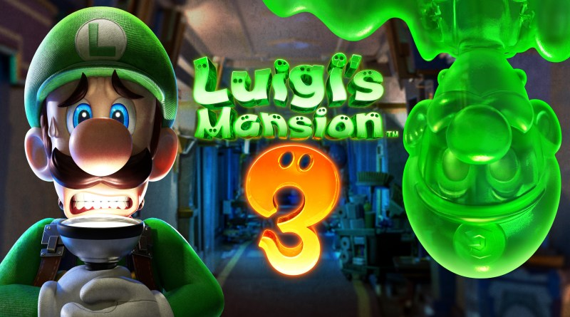 Luigi's Mansion artwork