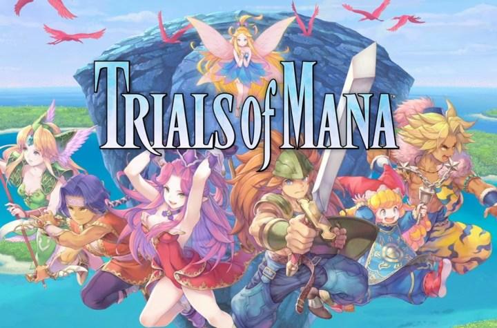 Trials of Mana art