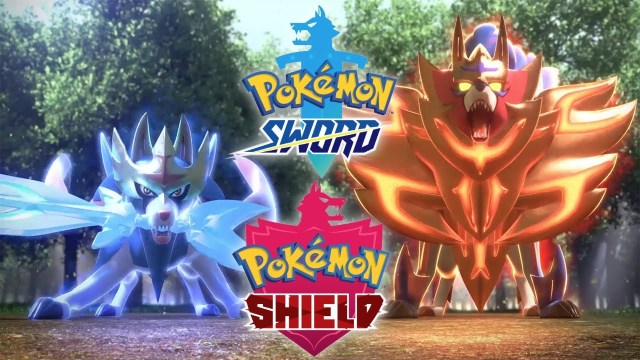Pokémon Sword Shield art