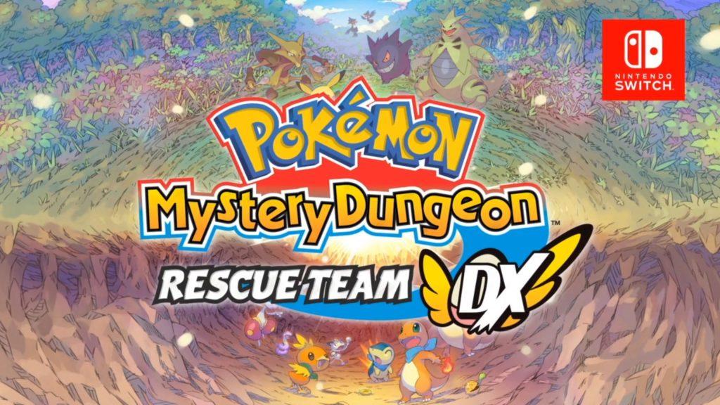 Pokemon Mystery Dungeo Rescue Team DX