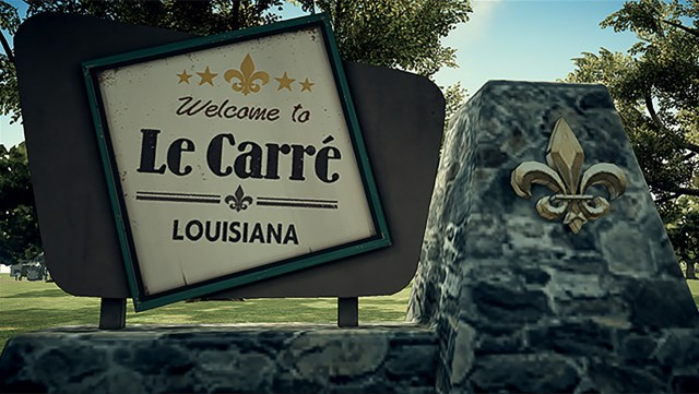 Deadly Premonition Carre sign