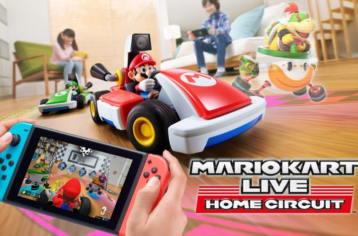 Mario Kart Live key art