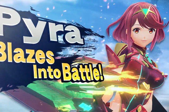 Pyra Smash Bros DLC