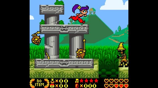 Shantae run