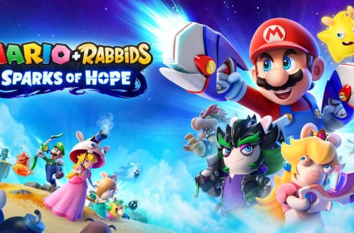 Mario Rabbids Spark of Hope Keyart