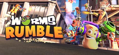 Worms Rumble Keyart